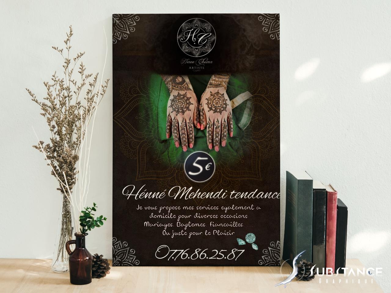 Affiche pour Henne Chaima